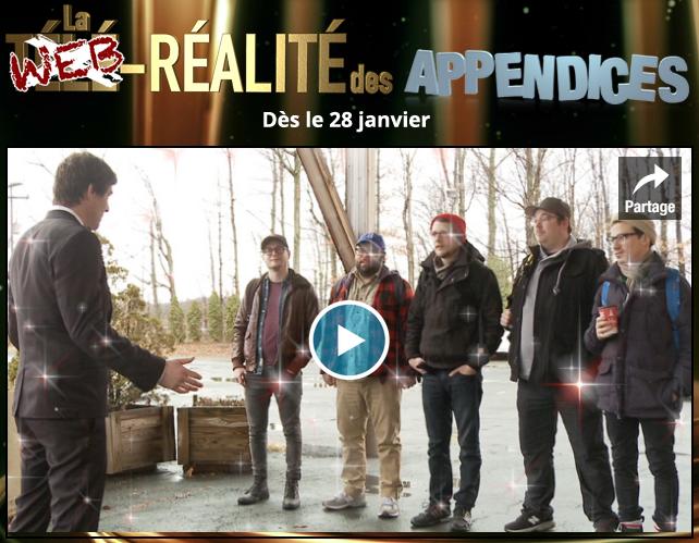 Une nouvelle web-série pour Les Appendices!