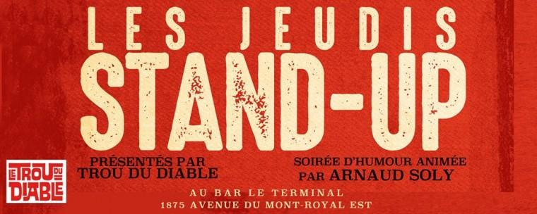 Les Jeudis Stand-up au Terminal!
